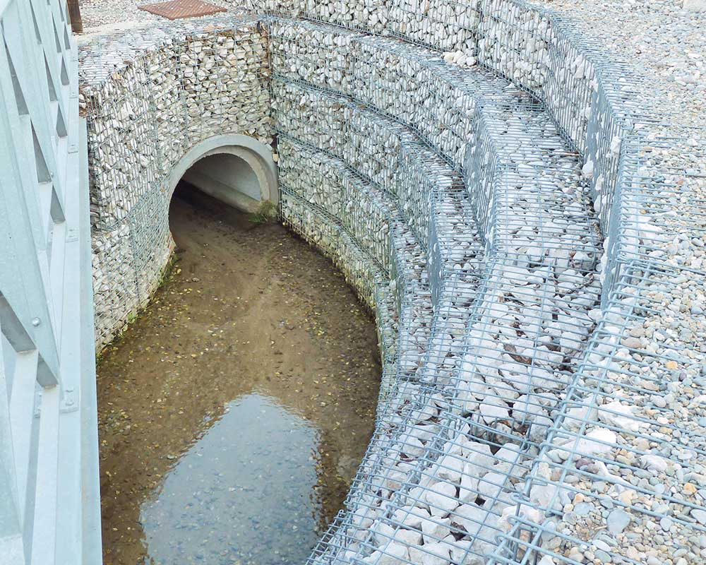 Natural Stone Box gabbioni decorativi e drenanti di recinzione