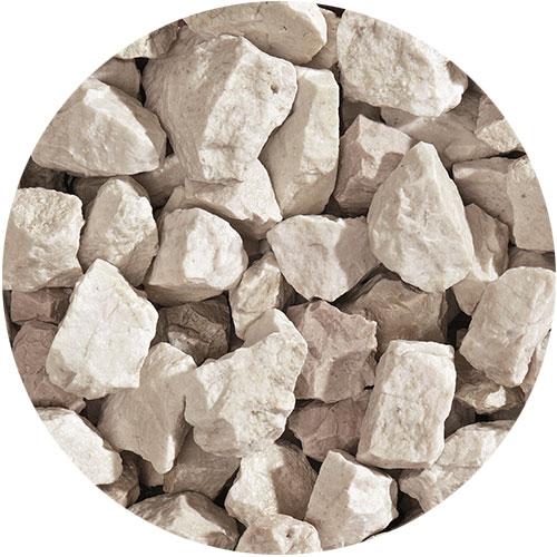 Granulati di pietra naturale bianco zandobbio di Granulati Zandobbio