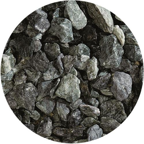 Granulati di pietra naturale verde alpi di Granulati Zandobbio